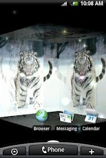 Tiger White 3D