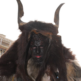 The devilhunter goat by Nikos Pilpilidis - People Musicians & Entertainers