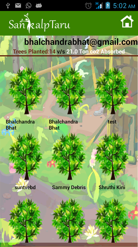 "Sankalp Taru-G1 ""Plant A Tree"" - screenshot"