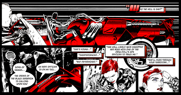SXPD The Comicbook Game Hybrid Screenshot 11