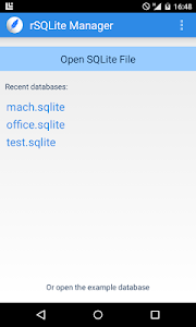 SQLite Relational Manager screenshot 0
