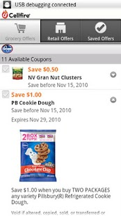 Cellfire Grocery Coupons - screenshot thumbnail