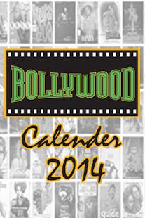Bollywood Calender 2014