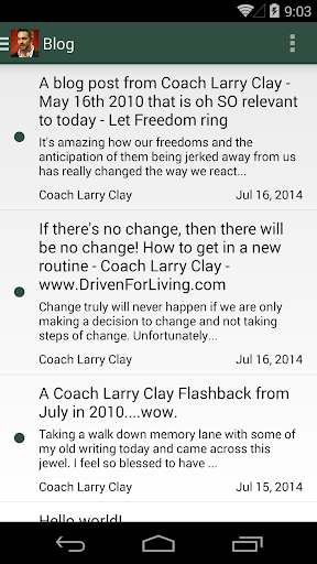 Coach Larry Clay