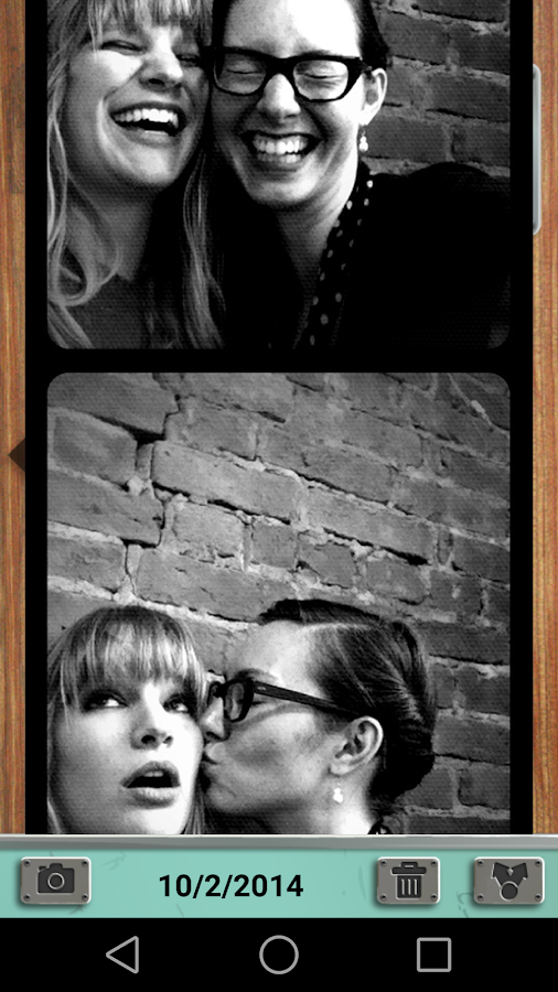 Pocketbooth- screenshot