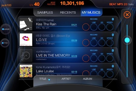 BEAT MP3 2.0 - Rhythm Game v2.4.0