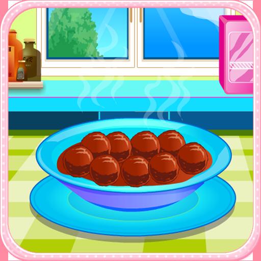 休閒App|肉丸的食物烹飪比賽 LOGO-3C達人阿輝的APP