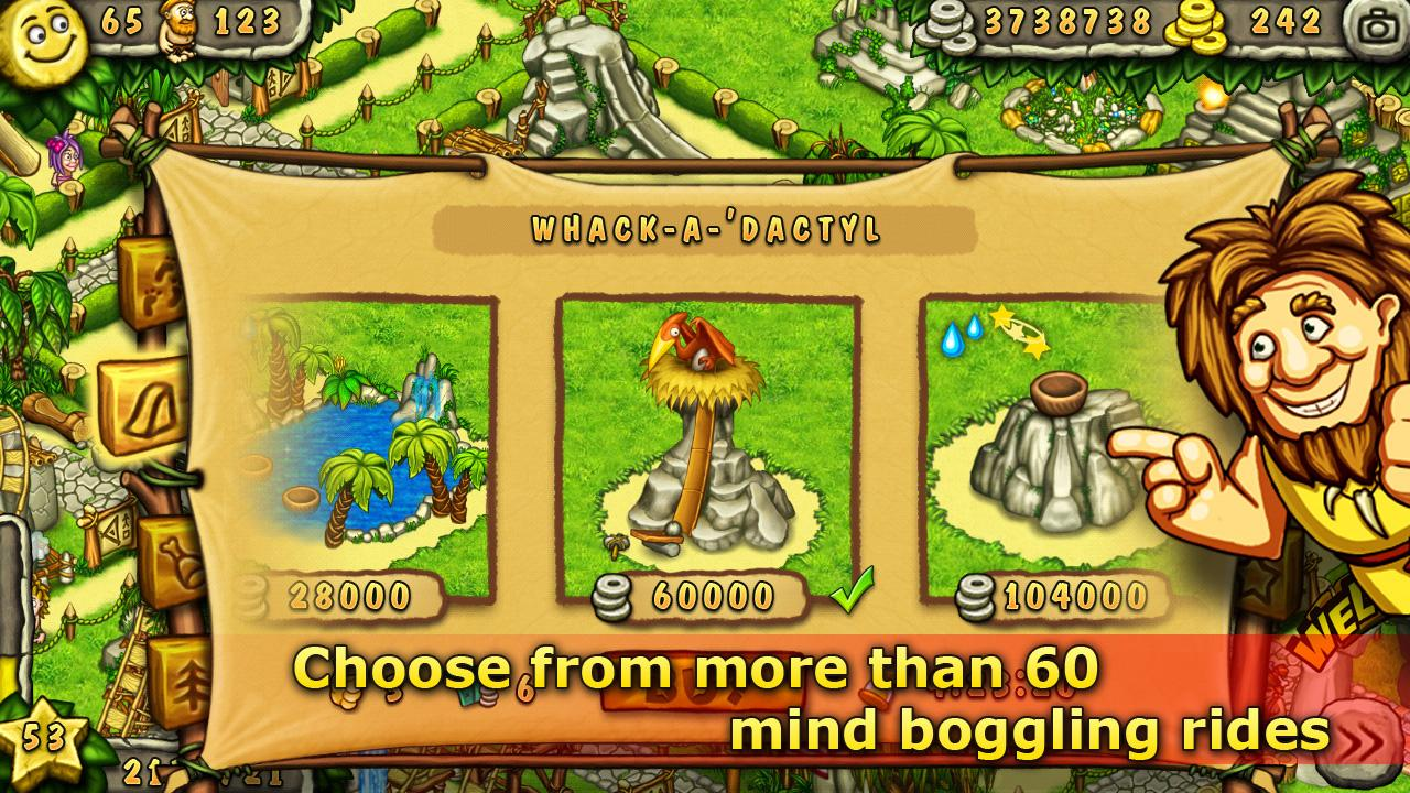 Prehistoric Park Builder screenshot #9