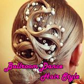 Ballroom Dance Hairstyle