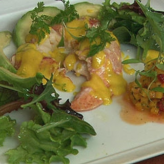 Lobster Salad With Avocado And Mango Dressing