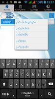 Screenshot of Georgian Dictionary
