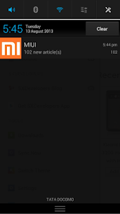 MIUI - screenshot thumbnail