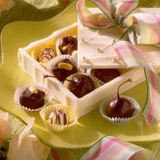 Chocolate-Peanut Butter Fudge Squares.