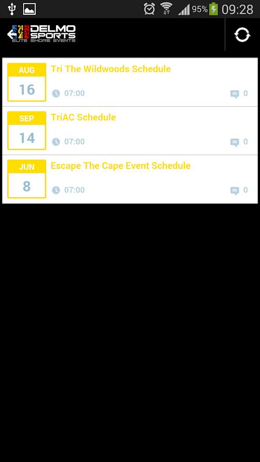 Delmo Sports Triathlon - screenshot