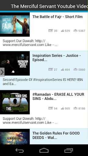 The Merciful Servant Youtube