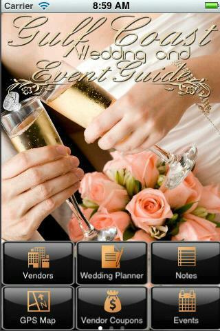 Gulf Coast Wedding Guide- screenshot
