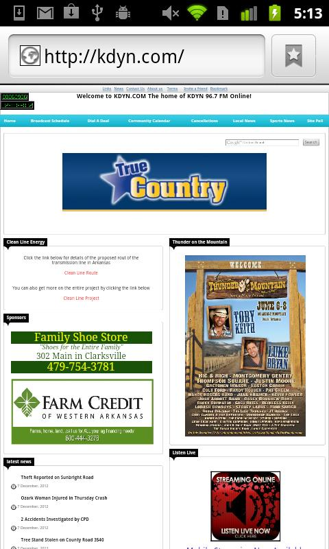 True Country Radio- screenshot