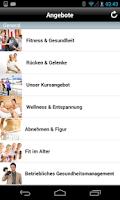 Screenshot of maxx! Gesundheitszentrum