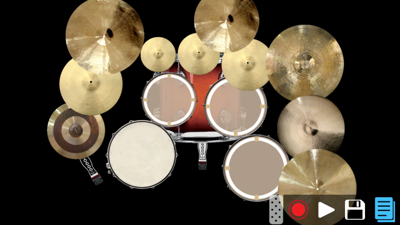 Drum Set - a pro drum app - screenshot