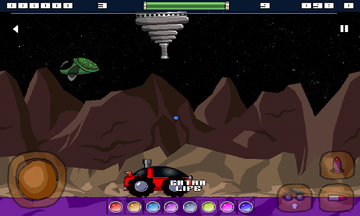 Space Rover (Moon Patrol) - screenshot thumbnail