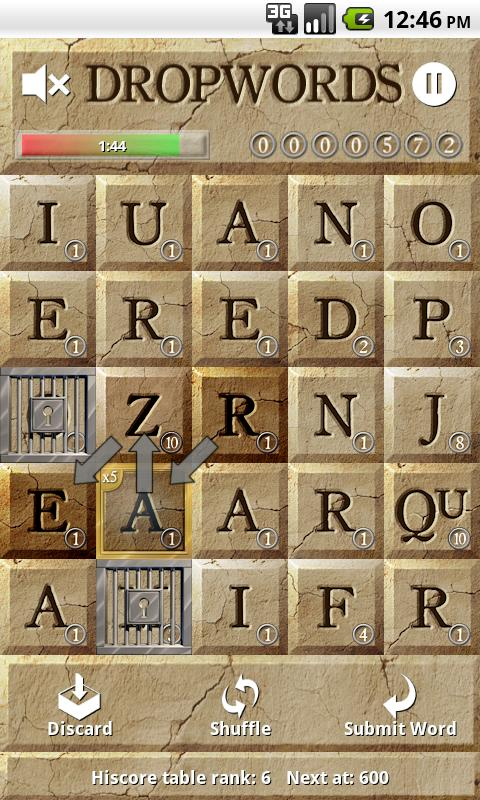 Dropwords PRO- screenshot