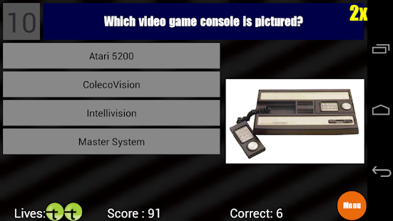 Video Game Trivia- screenshot thumbnail