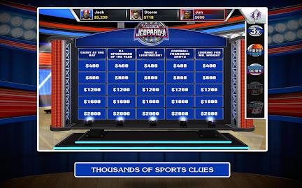 Sports Jeopardy! Screenshot 26