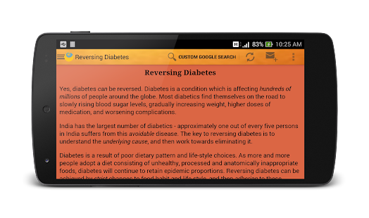 Reversing Diabetes- screenshot thumbnail