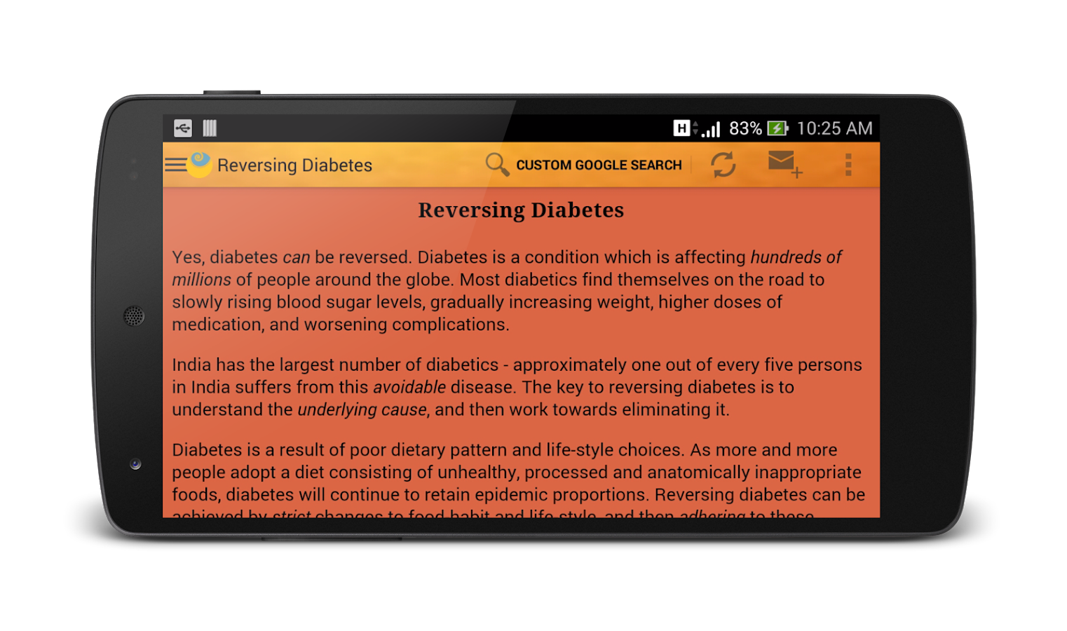 Reversing Diabetes- screenshot