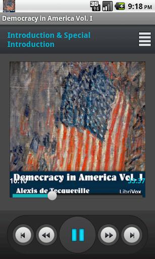Democracy in America Vol. I