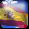 3D Spain Flag icon