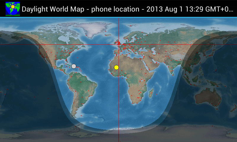 Daylight World Map Android Apps on Google Play