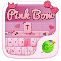 Pink Bow GO Keyboard Theme icon