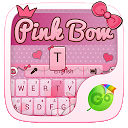 Pink Bow GO Keyboard Theme 4 APK Download