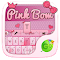 Pink Bow GO Keyboard Theme 1.85.5.82 Apk