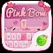 Pink Bow GO Keyboard Theme 1.85.5.82 Apk