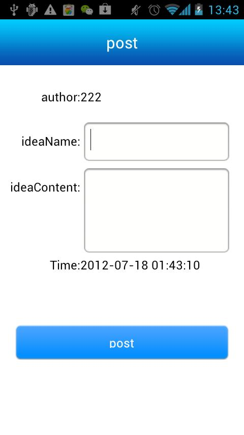 IdeaTrade - screenshot