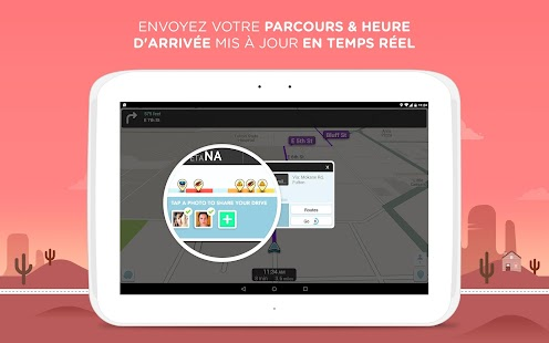 waze gps cartes trafic applications android sur google play. Black Bedroom Furniture Sets. Home Design Ideas