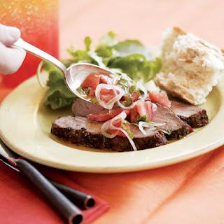 Mediterranean-Style Flank Steak