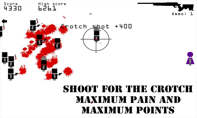 Killer Shooting Sniper X - screenshot