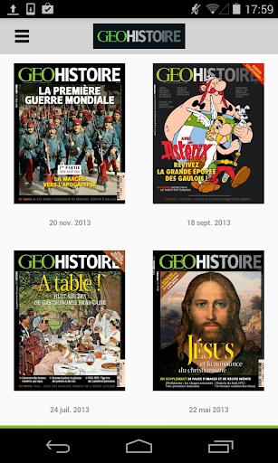 GEO Histoire le magazine