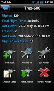 T3chDad® RC Flight Log- screenshot thumbnail