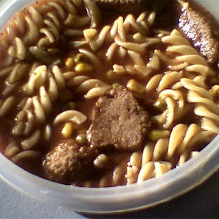 Crockpot Meatball Pasta Soup