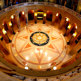 by Michael Rey - Buildings & Architecture Other Interior ( interior design, state capitol, minnesota, dome, architecture, interior court, historic,  )