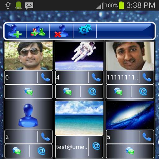 Favorite Contact Widget