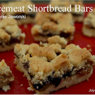 Mincemeat Shortbread Bars Tested.