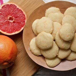 Glazed Grapefruit Cookies.