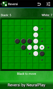 Reversi by NeuralPlay - screenshot thumbnail