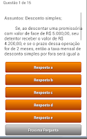 Screenshot of Quiz Questoes Conc Publico Pro
