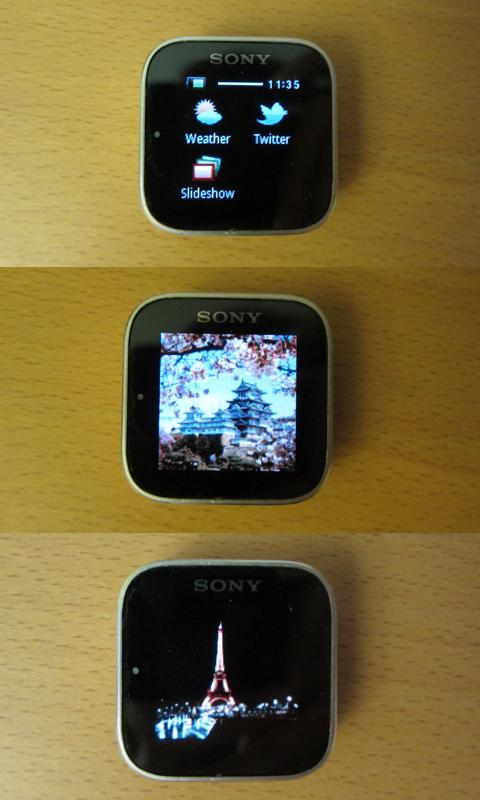 Slideshow for SmartWatch - screenshot